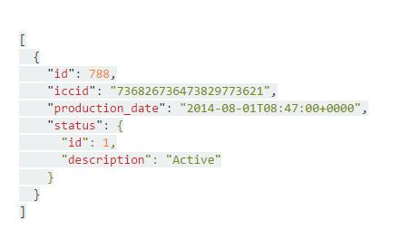 API Find SIM in Repository by ICCID