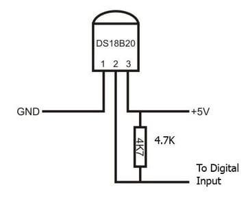DS18B20-Wiring