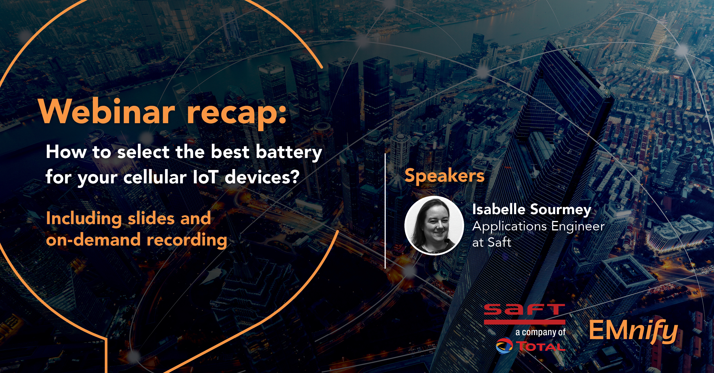 Webinar recap: How to select the best battery for your cellular IoT devices?