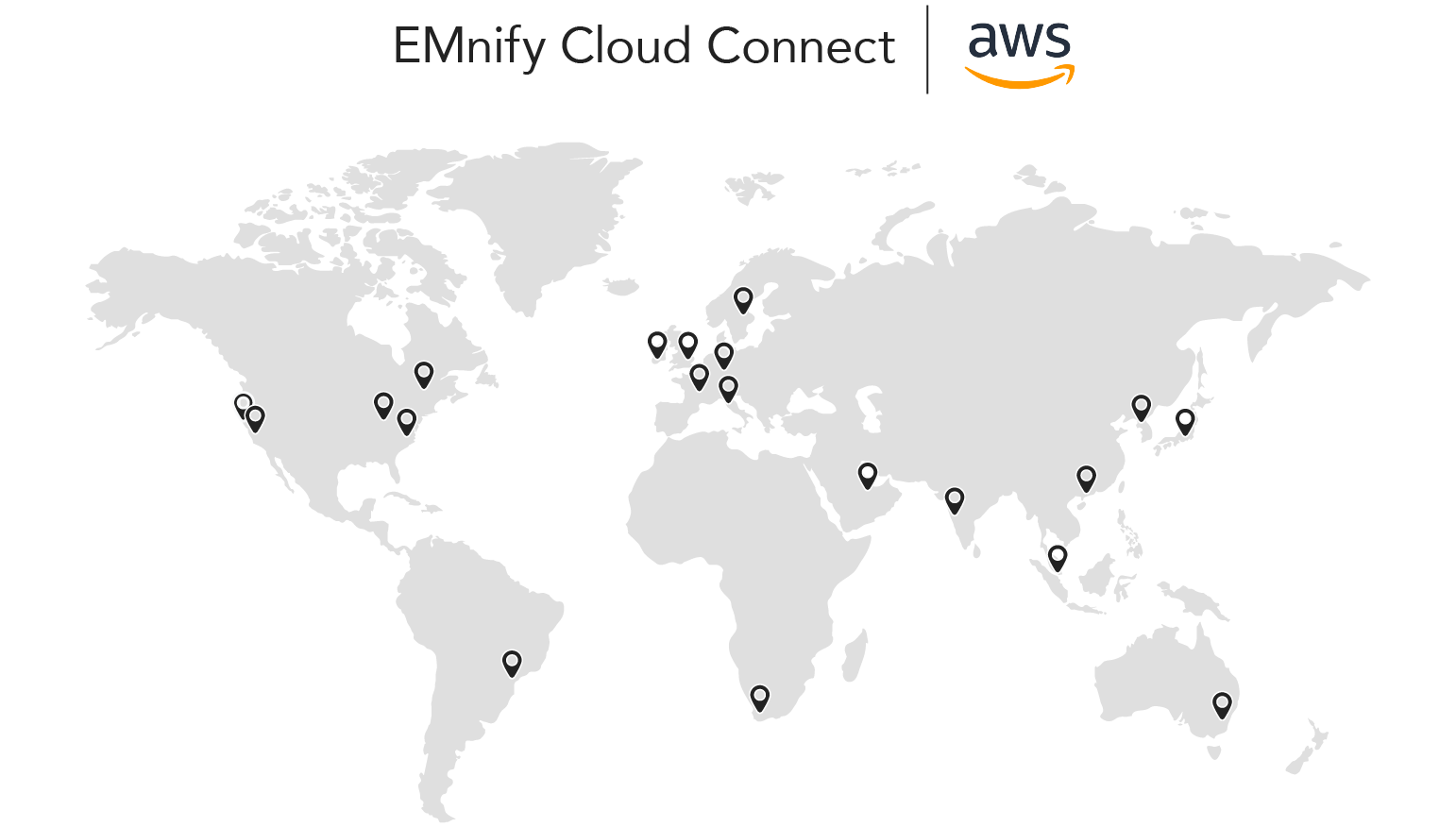 EMnify AWS Cloud Regions
